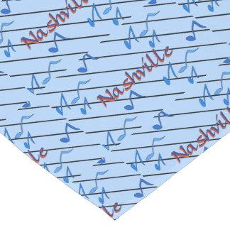 Nashville Blue Notes Short Table Runner