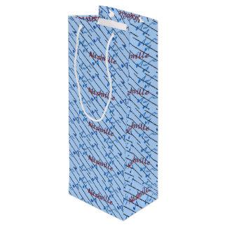 Nashville Blue Notes Wine Gift Bag