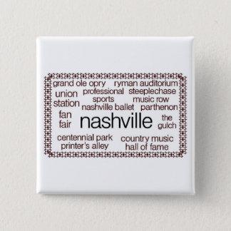 Nashville Brown Button