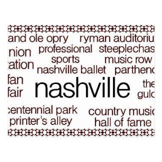 Nashville Brown Postcards