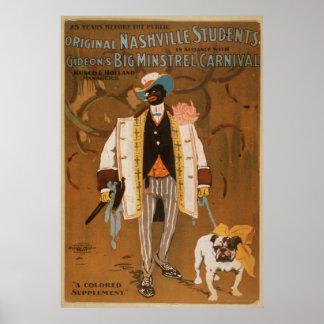Nashville Bull Dog Poster