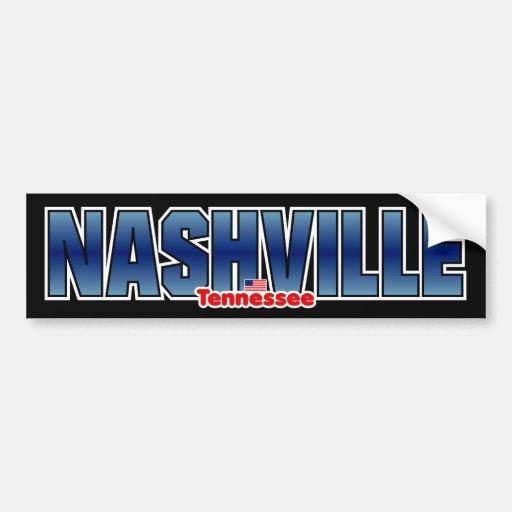 Nashville Bumper Bumper Sticker