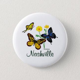 Nashville Butterflies Button