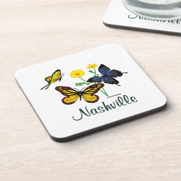 Nashville Butterflies Coaster