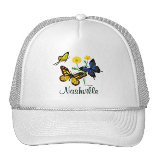 Nashville Butterflies Trucker Hat