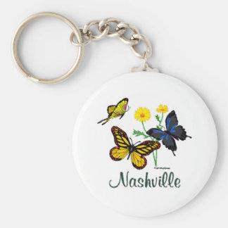 Nashville Butterflies Keychain