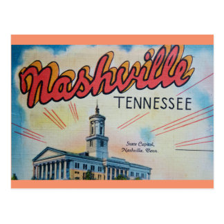 Nashville Capitol Postcard
