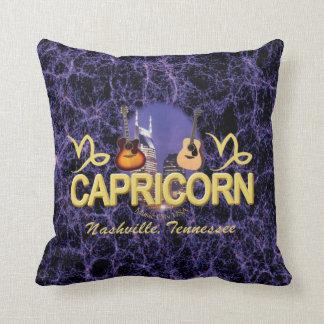 "Nashville Capricorn Throw Pillow 16"" x 16"""