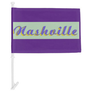 Nashville Car Flag