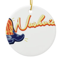 Nashville Ceramic Ornament