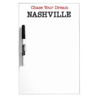 Nashville Chase Your Dream Dry Erase Board