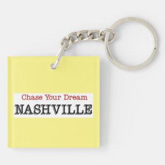Nashville Chase Your Dream Keychain