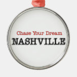 Nashville Chase Your Dream Christmas Tree Ornaments