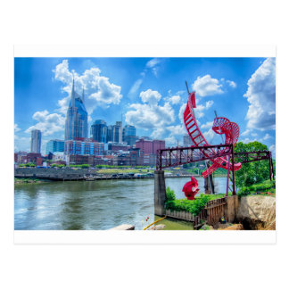 Nashville City in Tennessee Postcard