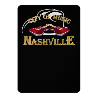 Nashville. City of music Card
