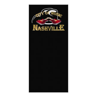 Nashville. City of music Rack Card