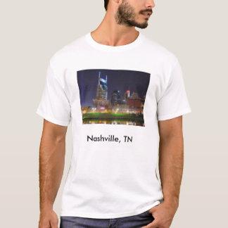 Nashville, ciudad los E.E.U.U. de la música del TN Playera