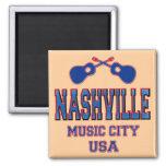 Nashville, ciudad los E.E.U.U. de la música Imán De Frigorífico