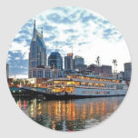 Nashville Classic Round Sticker