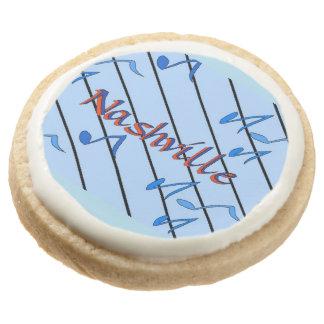 Nashville Cookies Round Premium Shortbread Cookie