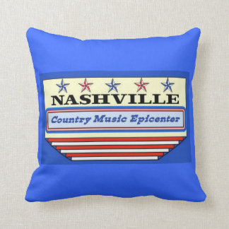 Nashville Country Music Epicenter Pillow