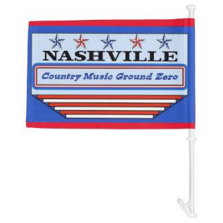 Nashville Country Music GZ Car Flag
