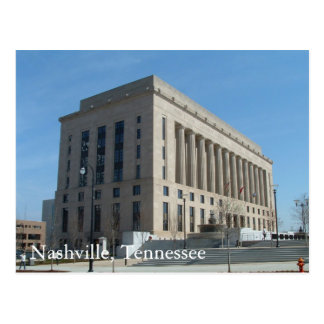 Nashville Courthouse - Davidson County, Tennessee Postcard