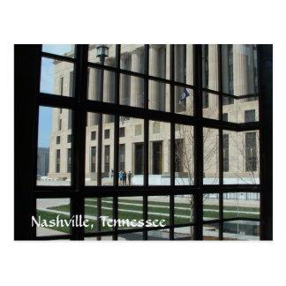 Nashville Courthouse Plaza Postcard