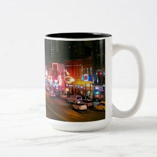 Nashville de neón taza
