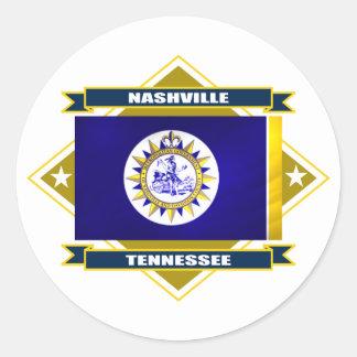 Nashville Diamond Classic Round Sticker