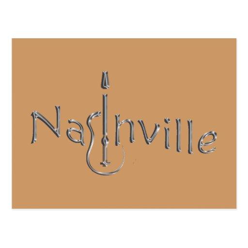 Nashville dorada postales