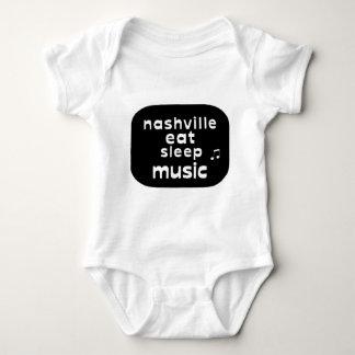Nashville Eat Sleep Music Shirt