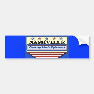 Nashville Epicenter Car Bumper Sticker