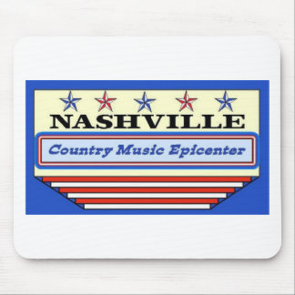Nashville Epicenter Mouse Pad