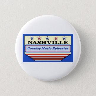Nashville Epicenter Pinback Button