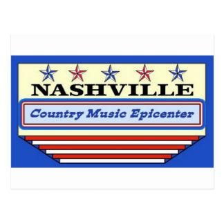 Nashville Epicenter Postcard