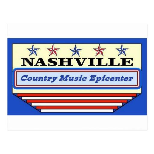Nashville Epicenter Postcards
