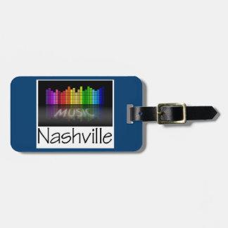 Nashville Equalizer Bag Tag