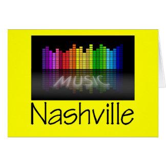 Nashville Equalizer Greeting Card