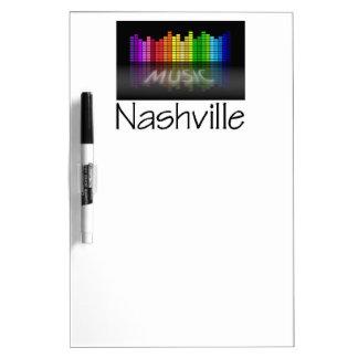 Nashville Equalizer Dry Erase Board