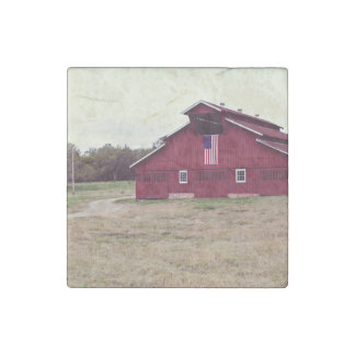 Nashville farms red house field stone magnet