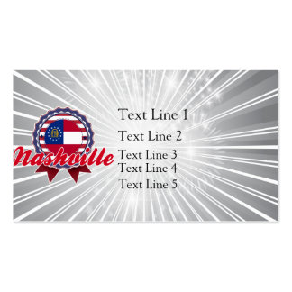 Nashville, GA Business Card Template