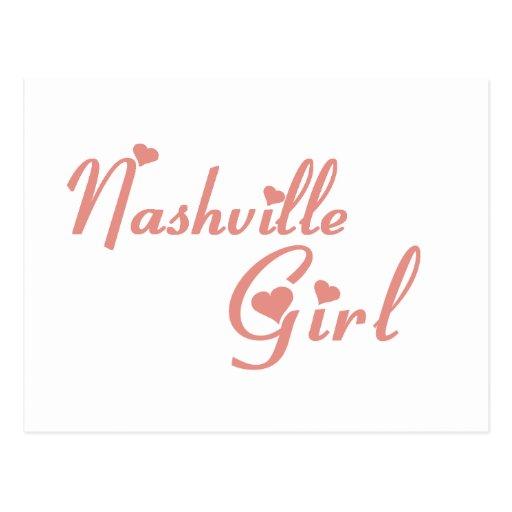 Nashville Girl tee shirts Postcards