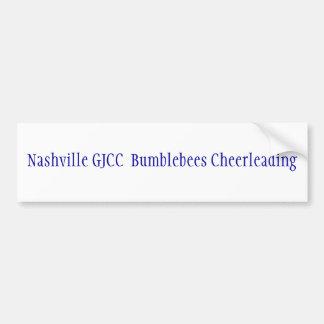 Nashville GJCC Bumblebees Cheerleading Bumper Stickers