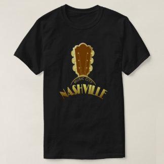 Nashville Gold Guitar Men's Dark T-Shirt