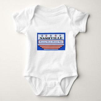 Nashville Ground Zero Baby Bodysuit