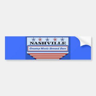 Nashville Ground Zero Car Bumper Sticker