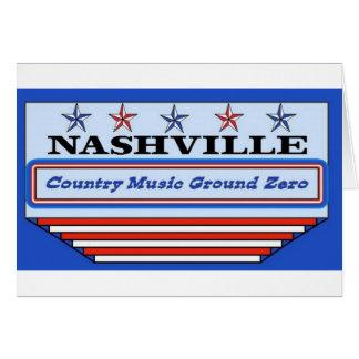 Nashville Ground Zero Greeting Card