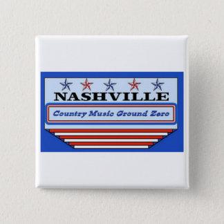 Nashville Ground Zero Pinback Button