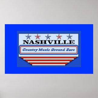 Nashville Ground Zero Poster